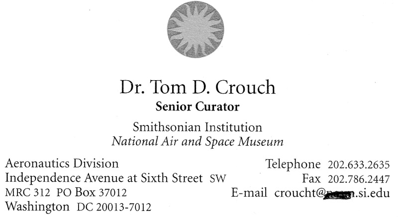 Smithsonian Institution Donation Contacts